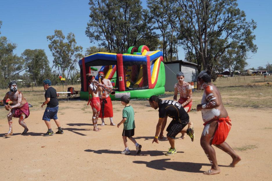 Aboriginal Dance Perfomance Pilliga ATSART Festival