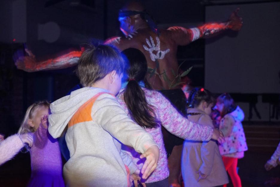 Children Dancing Traditionally