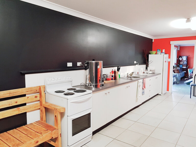 Community building kitchen