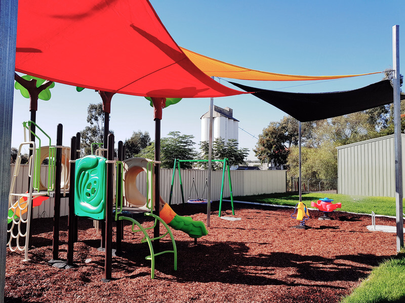 Private play area