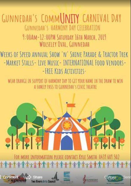 Gunnedah's CommUNITY Carnival Day