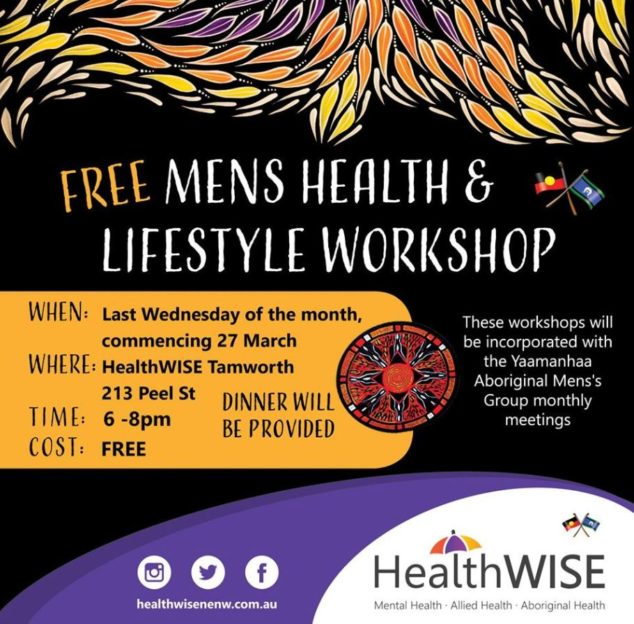 Men's Health & Lifestyle Workshop