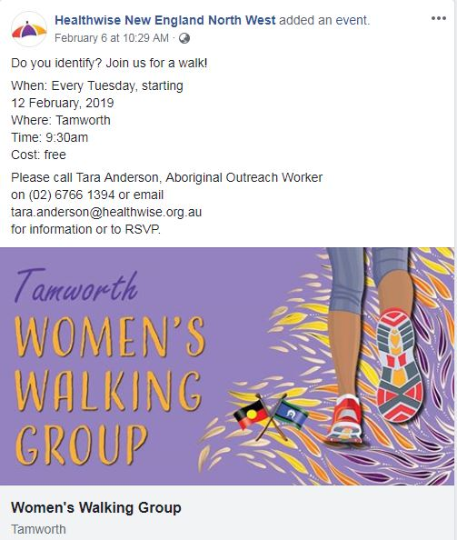 Womens Walking Group Tamworth