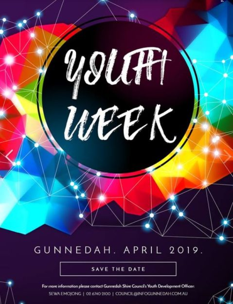 Save The Date - Youth Week Gunnedah