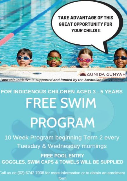 Swim Program Flyer 3 5 Years